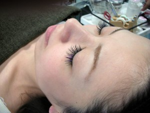 Clean your lashes