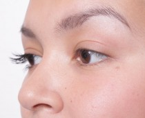 Before Individual Lashes