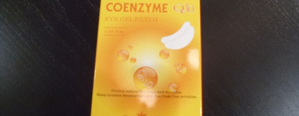Coenzyme Q10 Anti-wrinkle Eye Gel Patches.